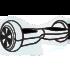 Картинки для срисовки гироскутер